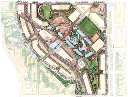 Oakridge landscape Plan